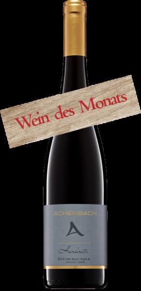 Spätburgunder barrique Wein des Monats September