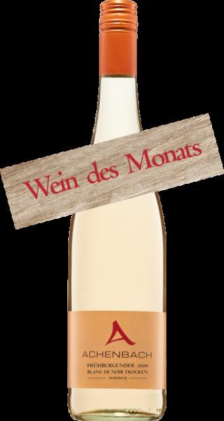 Frühburgunder blanc de noir Wein des Monats Juni
