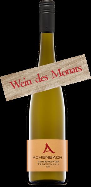 Weißburgunder Wein des Monats Juli